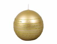 Sviečka vianočné ANDROMEDA GUĽA d6cm