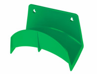 Držiak na hadice plastový zelený