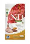 N & D GF Quinoa CAT Skin & Coat Quail & Coconut 1,5kg