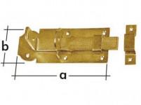 Zástrče blokovací rovná 100x45x5,0mm WZP100