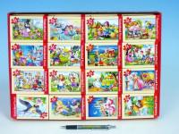 A-08521-B Minipuzzle Pohádky 54 dílků 16,5x11cm - mix variant či barev