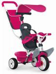 Trojkolka Baby Balade 2 ružová, strieška, taška