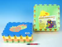 Pěnové puzzle Ovoce 30x30cm - mix variant či barev
