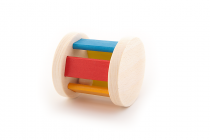 Hrkálka s guličkou drevené Wooden Toys 6m +