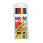 Fixy Easy Colours oBOUSTRANNÉ 6 barev vypratelné
