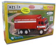 Stavebnice Monti 74 Tatra 815 hasiči ČR 1:48