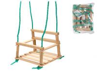 Houpačka dřevěná 34,5x26 cm max. nosnost 60 kg