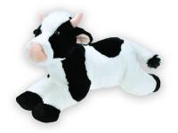 Kráva plyšová ležící 40 cm