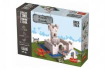 Stavajte z tehál Zámok stavebnice Brick Trick