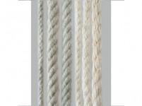lano prírodné 24mm stáčané s PP (30m)