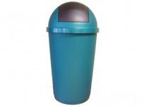 kôš odpadkový výklopný 40l guľatý plastový - mix farieb