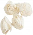 Dekorace - Sola Beauti Rose 6 cm - 4 ks