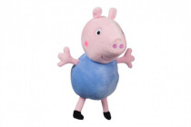 Prasiatko Peppa plyš postavička George 35,5 cm modrý v sáčku 0m +