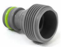 Adapter na kohoutek 3/4 STALCO GARDEN vnější závit plastový