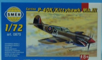 Směr Curtiss P - 40K 1:72 - VÝPREDAJ