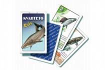 Kvarteto Ryby společenská hra karty v papírové krabičce