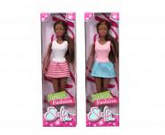 Bábika Steffi černoška Urban Fashion - mix variantov či farieb