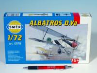 Model Albatros D.Va 1:72 10,2x12,6cm