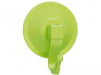 háčik s prísavkou 6,5cm plastový - mix farieb