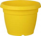 Kvetináč Similcotto brúsený - 25 cm žltý