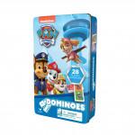 Domino v plechovej krabičke Tlapková patrola