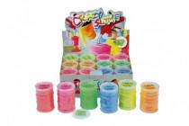 Sliz - hmota neonová 8x5,5cm - mix barev