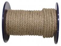 lano prírodné 8mm stáčané s PP (100m)
