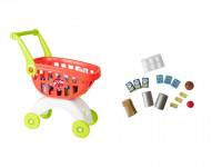 Smart nákupný vozík s doplnkami