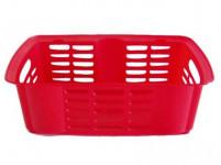 košík stohovateľný 31x19x11cm plastový - mix farieb
