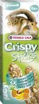 VL Crispy tyč křeček, veverka - exotické ovoce 2 ks, 110 g