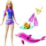 Barbie magický delfín panenka