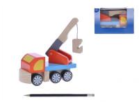 Auto/Odtahové vozidlo dřevo 16cm