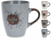 hrnek 320ml COFFEE keramický - mix barev