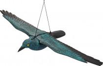 Plašič vtákov vrana letiaci 80 x 43,5 xv 9cm Stocker