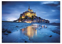 Puzzle 1500 dílků Le Mont Saint-Michel