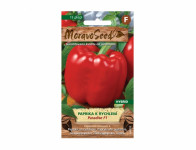Osivo Paprika zeleninová k rychlení PARADISE F1, červená