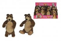 Máša a medveď Plyšový medveď 25 cm - mix variantov či farieb
