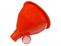 lievik do demižóny so sitkom plastová - mix farieb