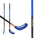 Spokey Avid II hokejka florbal modrá rovná čepel