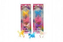 Poník kůň s křídly plast 6cm - mix variant či barev