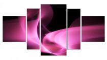 Obraz Růžová abstrakce 3105 - VÝPREDAJ