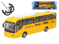 Autobus RC plast 28cm na diaľkové ovládanie + batériový pack so svetlom