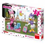 Puzzle Minnie v Paríži 24 dielikov 26x18 cm