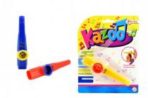 Kazoo plast 12cm - mix farieb