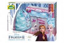 Pletacie stôl plast s vlnou a doplnky Ľadové kráľovstvo II / Frozen II