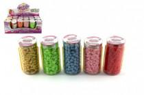 Korálky plast v tube 9cm - mix variantov či farieb