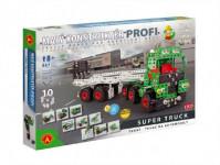 Malý konštruktér Profi Super Truck Ťahač kov 867ks stavebnice