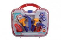 Doktorský kufrík 10 dielov, 30x28x9 cm