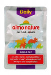 Almo Cat Daily vrecko hovädzie + kura 70g