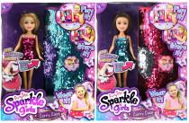 Bábika Sparkle Girlz s kabelkou